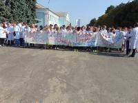 Участие студентов колледжа в городской акции к ДНЮ ТРЕЗВОСТИ