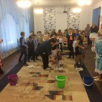 Волонтеры в Железногорском приюте_2